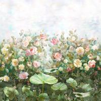 Обои Affresco Rose_garden_Color_1