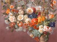 Обои Affresco Still_Life_with_Flowers_Color_1