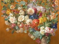 Обои Affresco Still_Life_with_Flowers_Color_4